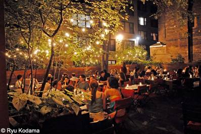 I spy the haute 5 places to people watch in nyc haute for Best romantic restaurants nyc