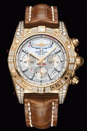 Breit-Bling: Breitling Chronomat 01 Diamondworks Watch