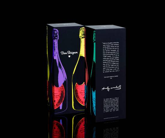 A Tribute to Andy Warhol by Dom Pérignon