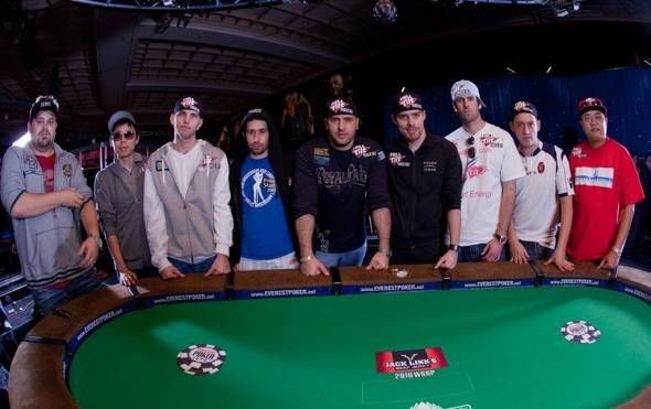 November Nine Is Set for 2010 World Series of Poker Main Event