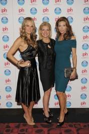 Molly Sims, CEO HSN, Inc. Mindy Grossman and Jennifer Flavin Stallone arrive at HSN's Live in Vegas for 33rd birthday extravaganza Planet Hollywood Resort.