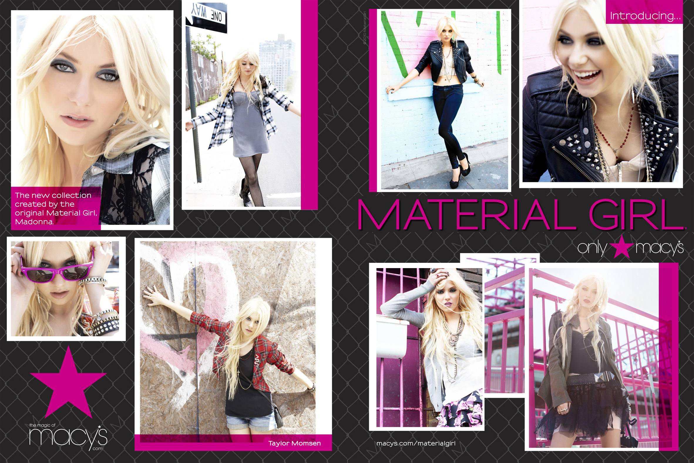Material Girl Clothing Line to Launch at Macy's