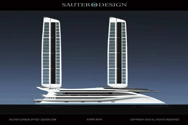 Haute Yachts: Super Nova Superyacht Concept Should Be Super-Green
