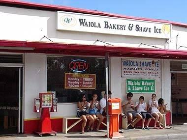 Waiola Bakery & Shave Ice - 525 Kapahulu Avenue, Honolulu * Phone 808.735.8886