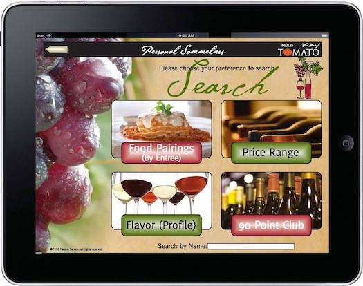 Introducing the iPad Wine List