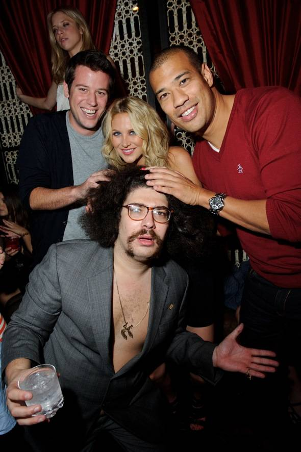 Ben Lyons, Stephanie Pratt, Michael Yo, and Fabrizio Goldstein
