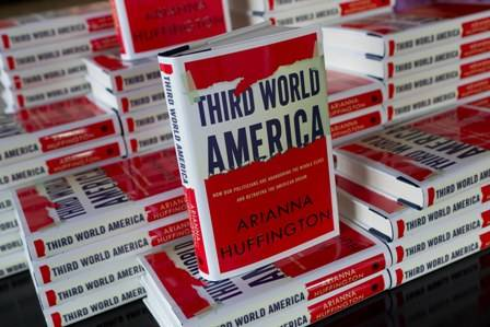 Haute Event: Willie Brown, Alan Malouf and Diana Nelson Host Book Signing for Arianna Huffington's Third World America