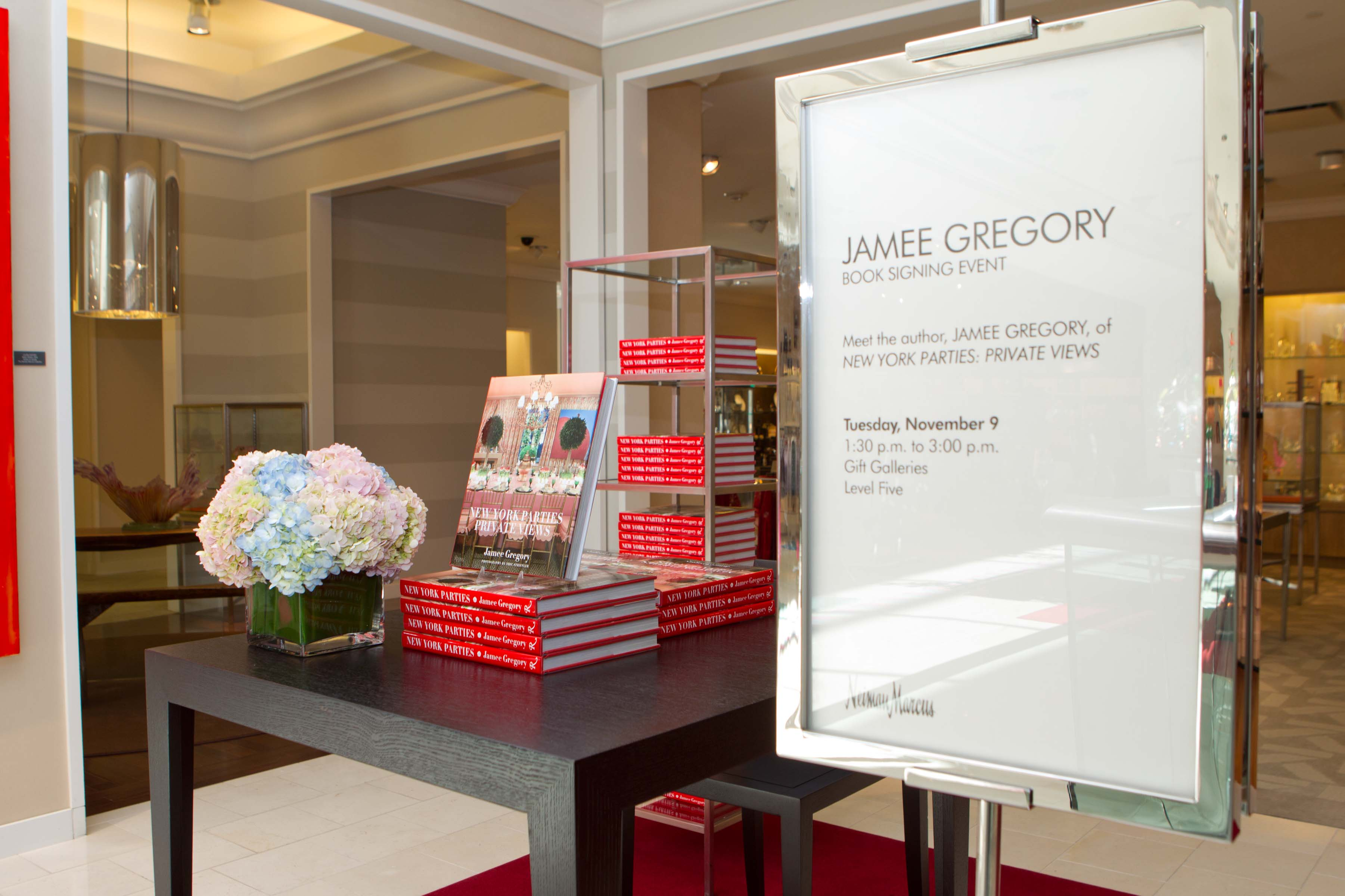 Haute Event: Jamee Gregory Public Book Signing at Neiman Marcus