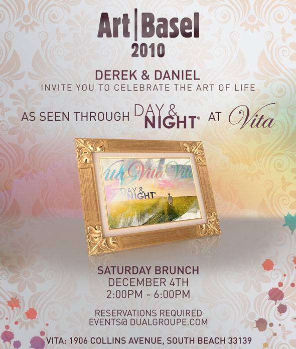 Haute Art Basel Event: Celebrate The Art of Life with Derek & Daniel Koch