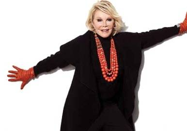 Support The Career Wardrobe With Joan Rivers