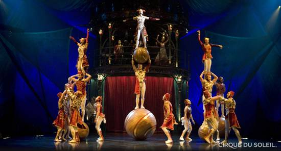 """Kooza"" Takes Cirque du Soleil to New Heights"