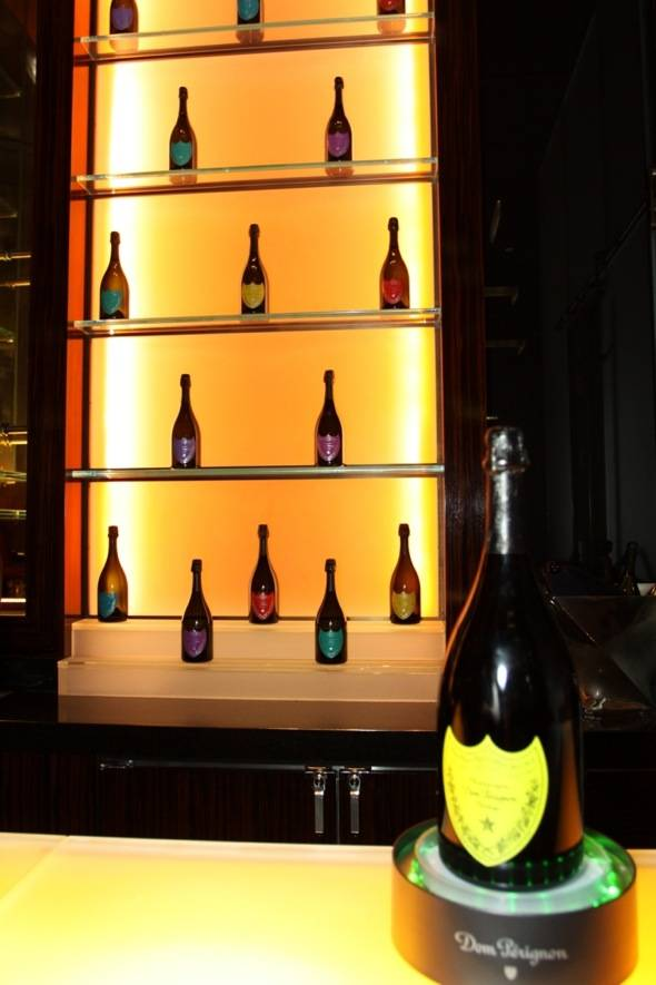 Haute Event: Dom Perignon Lauches A Tribute to Andy Warhol 2000 Vintage at Mandarin Bar