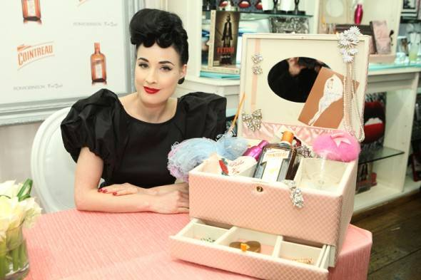 Haute Event: Dita Von Teese Launches My Private Cointreau Coffret