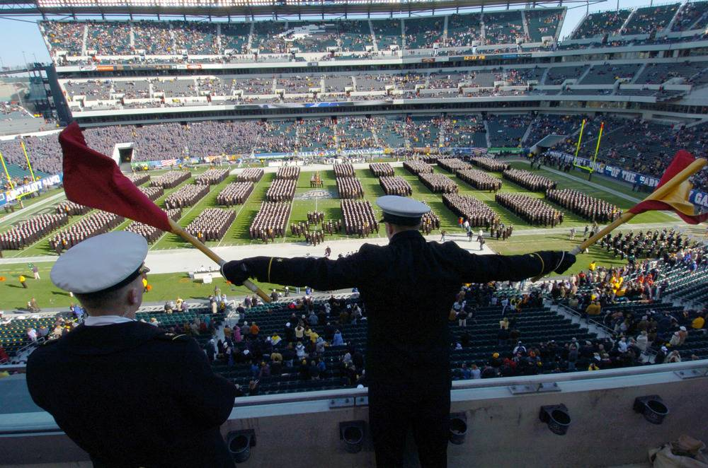 Philly Goes Patriotic For Army-Navy