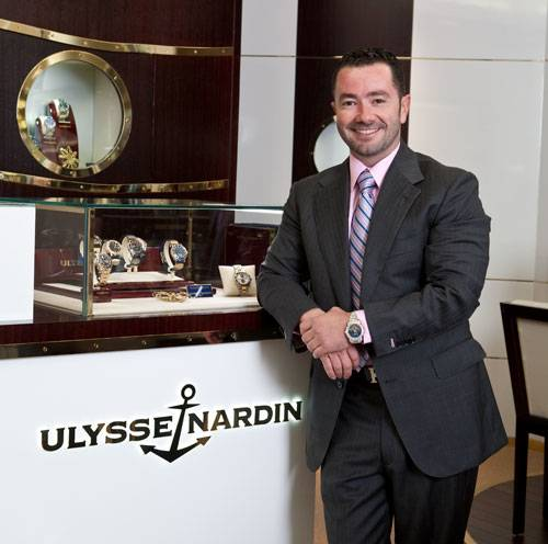 Midas Touch: Golden Boy Bobby Yampolsky Opens the First Ulysse Nardin Boutique in the U.S.