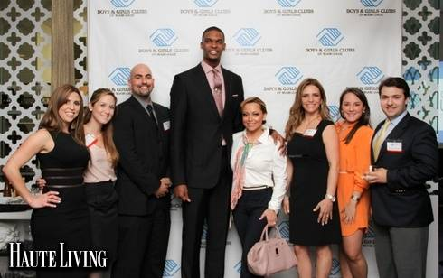 Boys & Girls Club of Miami-Dade Launches Networking Group Along With Miami Heat Star, Chris Bosh
