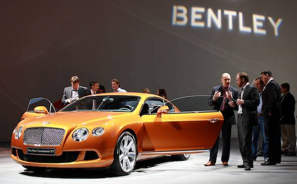 The New Bentley Continental GT Comes To America