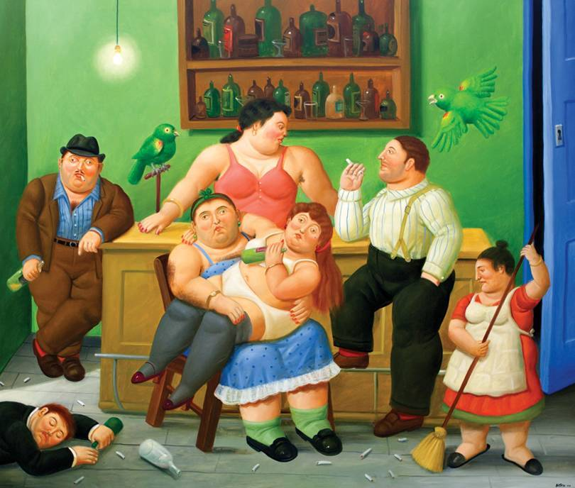 Largest Botero Exhibit At Gary Nader Gallery In Wynwood