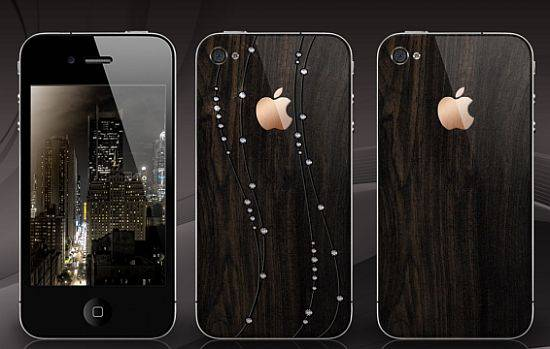 Haute Toys: Gresso's Customizes iPhone Accessory in 200-Year-Old Wood