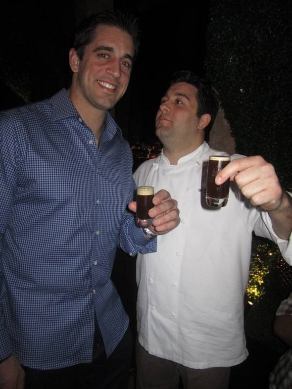 Aaron Rodgers, Chef Geno at Nove-credit 9 Group.jpg