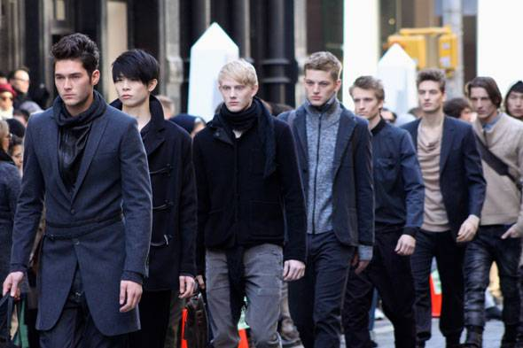 New York Fashion Week: Buckler Fall 2011 Show Shuts Down Grand Street