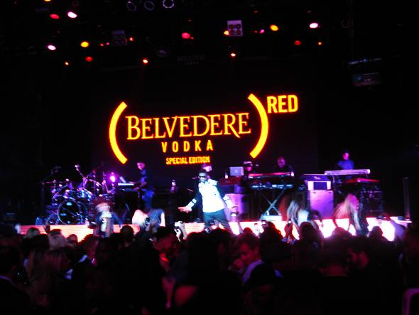 (BELVEDERE)RED Party Usher Preformance