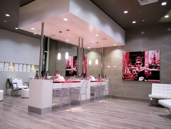 The w hollywood introduces blo hair salon haute living for A b beauty salon houston
