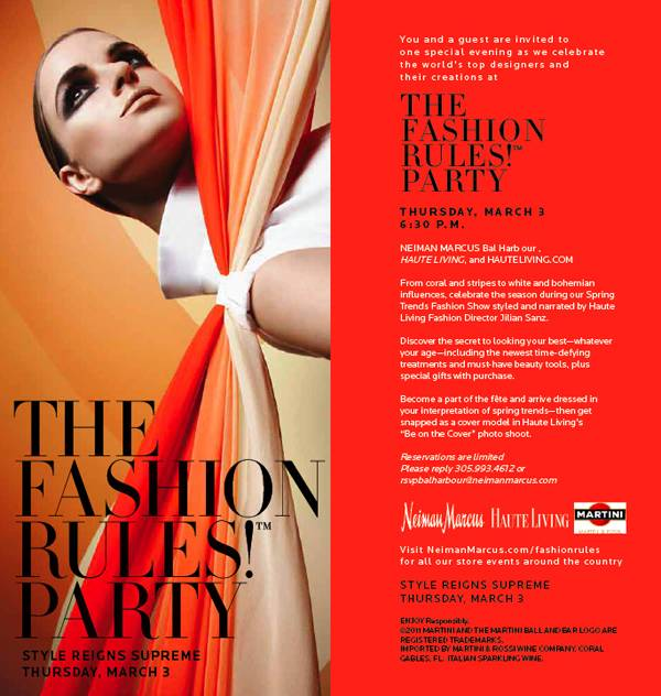 TONIGHT: Haute Living Hosts Spring Trends Fashion Show at Neiman Marcus Bal Harbour