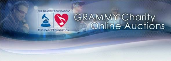 The 53rd Grammy Awards Present Online Charity Auction to Benefit MusiCares.