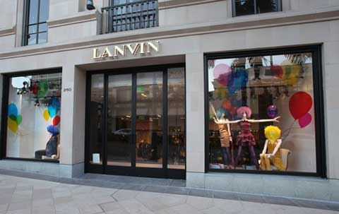Lanvin Now Open on Rodeo Drive