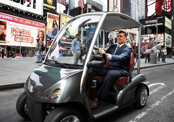 Haute Toys: Ultimate Luxury Golf Cart, The Garia