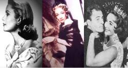 Grace Kelly, Marlene Dietrich, Richard Burton and Elizabth Taylor