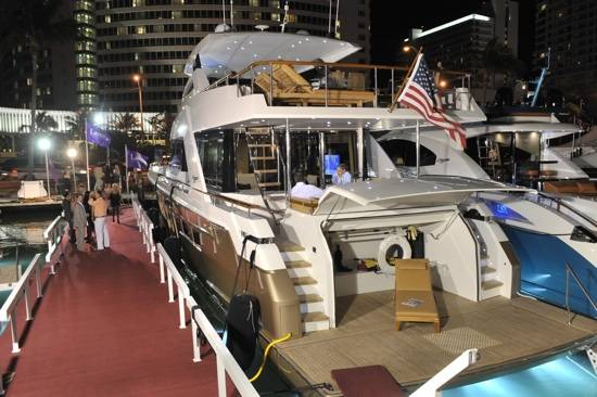 Haute Event: Giroski and Lazzara Yachts Host 2011 Yacht & Brokerage Show Opening Event in Miami Beach