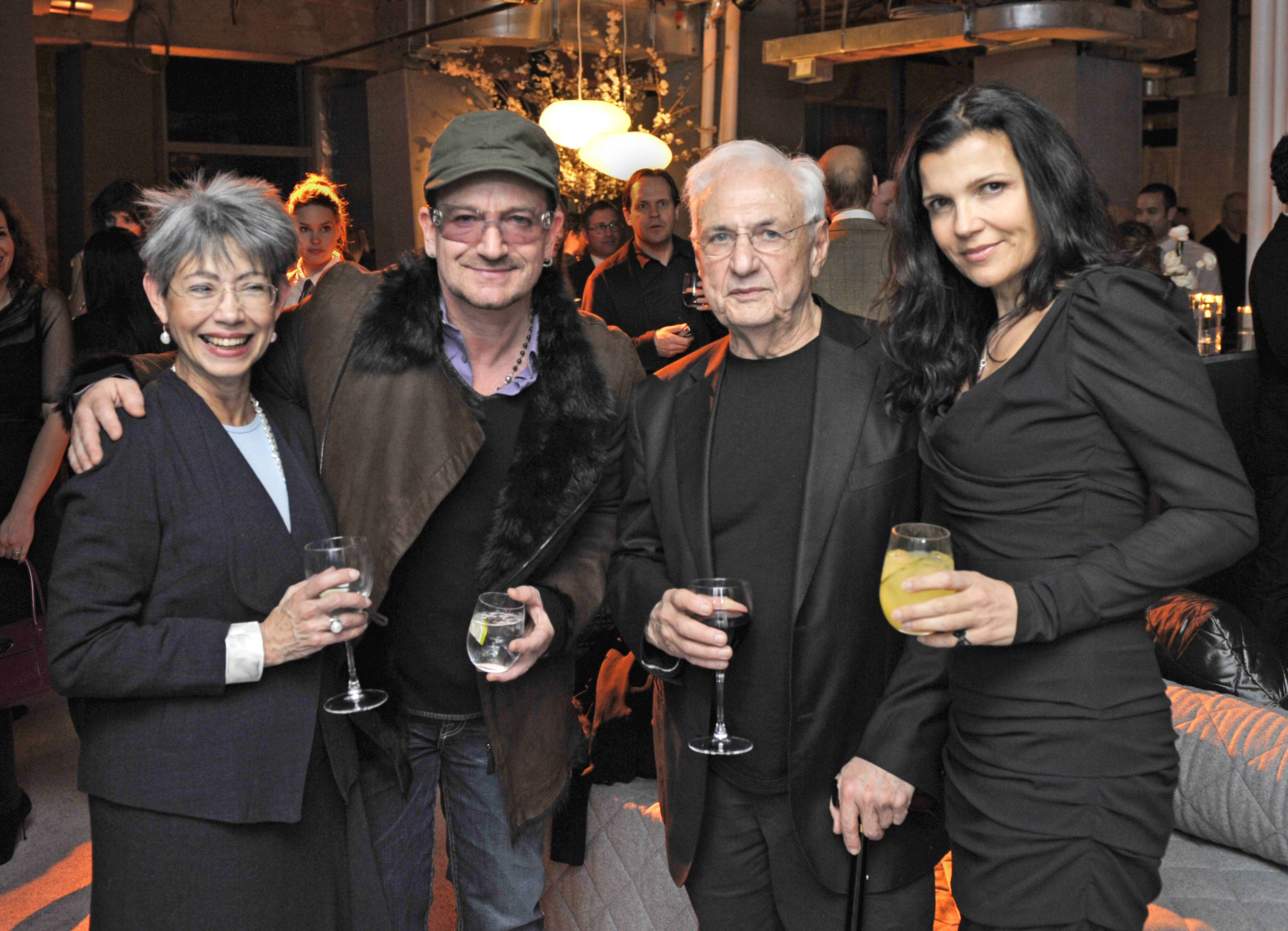 Haute Event: Architect Frank Gehry's 82nd Birthday Celebration