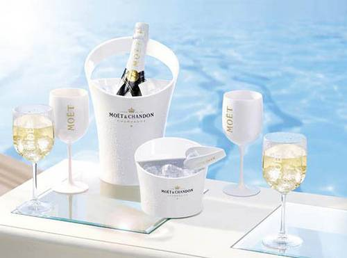 Moët & Chandon Ice Impérial Now Available Poolside