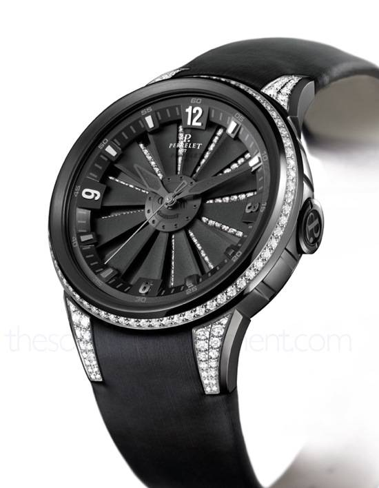Haute Time: Perrelet's Turbine XS, For the Lovely Ladies Out There