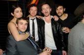 Alanna, Will, Danny, Chris and Jordan Masterson celebrate Danny Masterson's birthday.