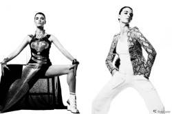 Cameron Krone photographs Crystal Renn for StyleCaster In Her Skin