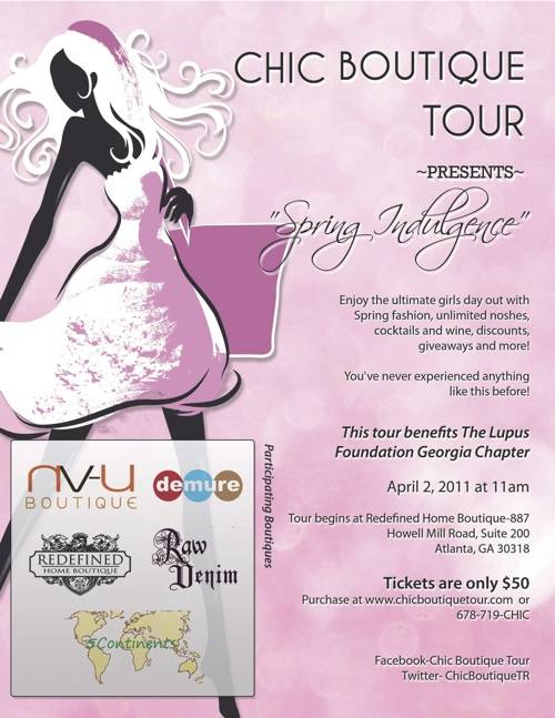 Save the Date: Shop in Style on the Chic Boutique Tour