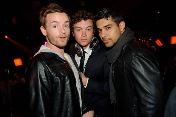 Chris Masterson, Danny Masterson and Wilmer Valderrama at LAVO LV