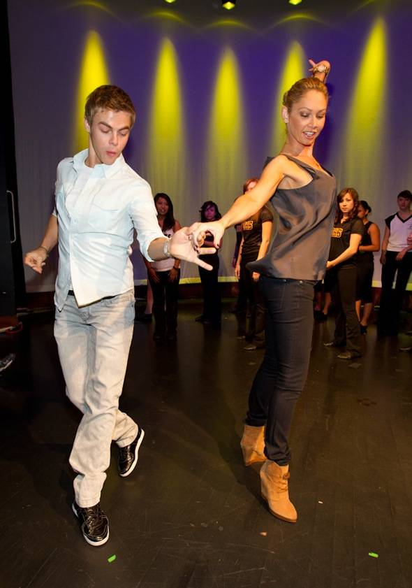 Haute Event: Derek Hough Teaches a Dance Class and Hines Ward Celebrates His Birthday at the Palms