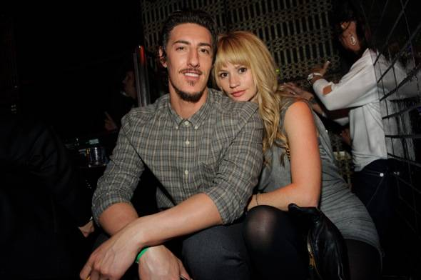 Eric Balfour and Cameron Richardson at LAVO LV