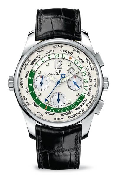 "Haute Time: Girard-Perregaux Creates Exclusive Timepiece for Christie's ""Bid to Save the Earth"" Green Auction"