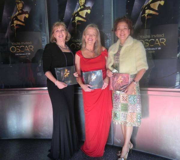 Guests were given the official program from the Academy Awards