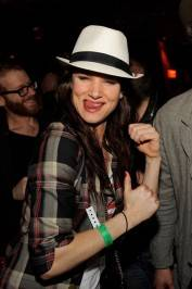 Juliette Lewis at Lavo.
