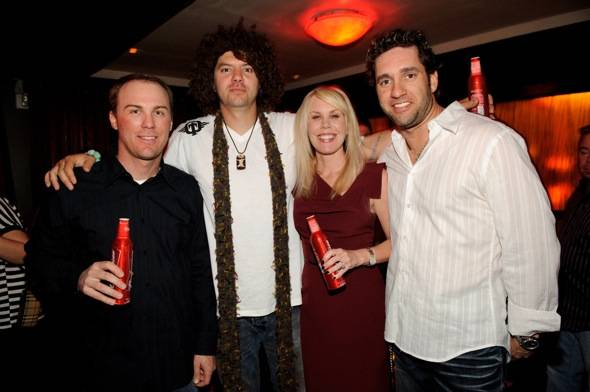 Haute Event: Mario Lopez at Lavo, Elliott Sadler and Kevin Harvick at Tao with Skyskrape