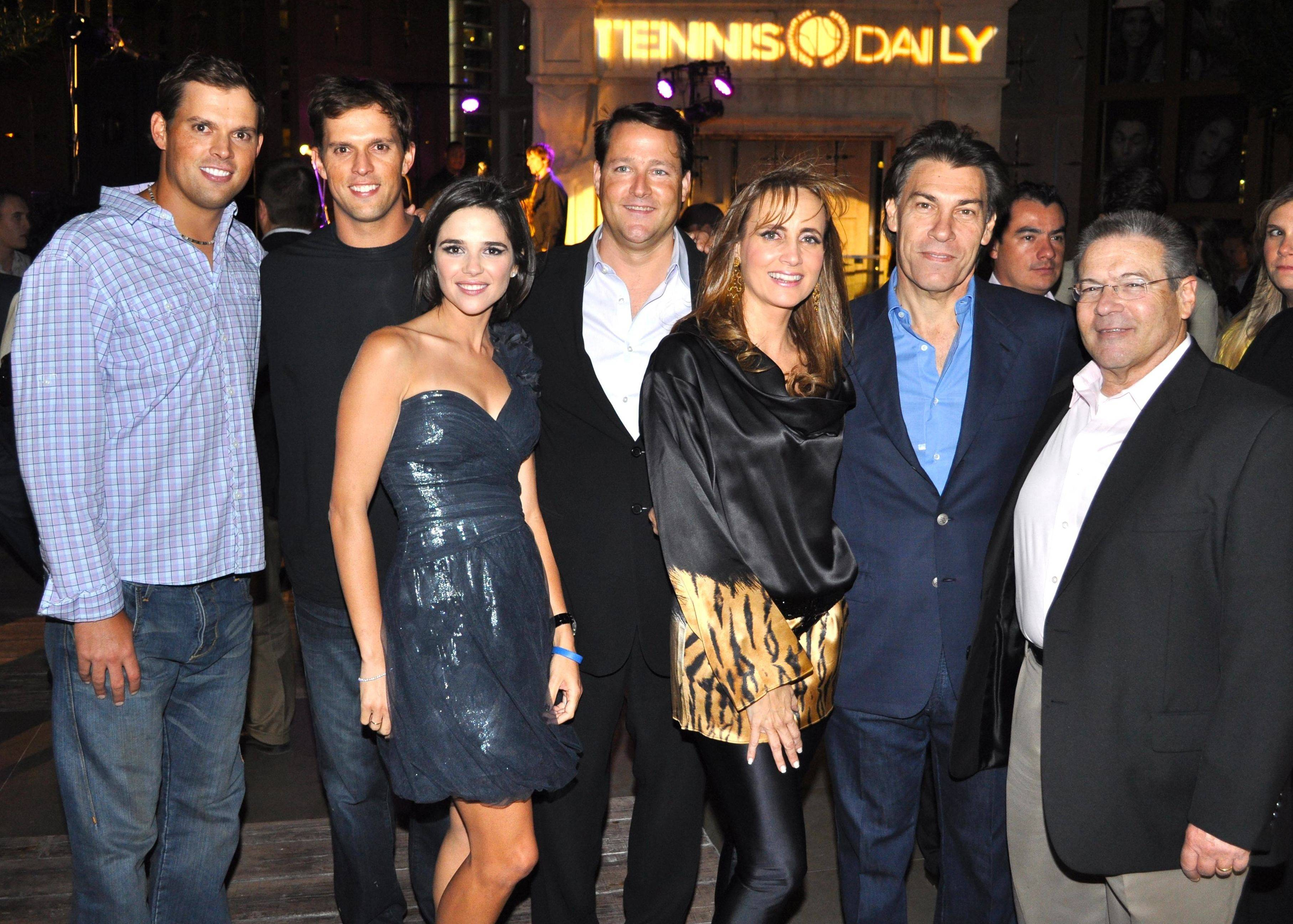 Haute Event: Number One Tennis Team Helps Launch Tennis Social Network