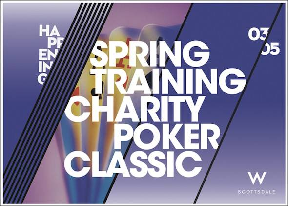 Spring Training Charity Poker Classic at W Scottsdale