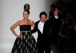 Above: Jill Zarin (left) and Zang Toi (right) at the Zang Toi Fall 2011 fashion show during Mercedez-Benz Fashion Week on Feb. 13, 2011.