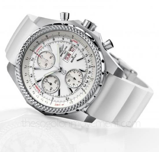 Haute Time: Breitling's All New Bentley GT Racing Ice Timepiece
